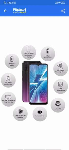 Y17 purple colour new mobile 3momths bill box and access
