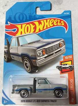 diecast dodge red ekpress truck 1978