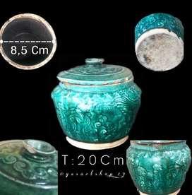 keramik antik siam hijau