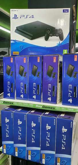 Swap your old ps3 or Xbox 360 for a ps4