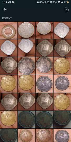 Coins collection 2L