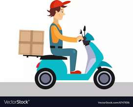 Part time job in Delivery boy