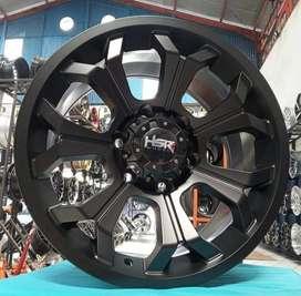Velg mobil offroad ring 17 untuk Pajero Fortuner Blazer Panther New