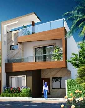 4bhk duplex house