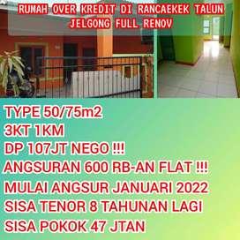 Take Over Kredit Rumah RANCAEKEK Angs 600Rban Flat Full Renov Abiezzz!