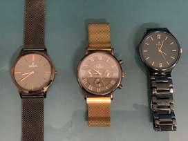 2 Pieces of Escape and one piece of Titan Watches Brand New