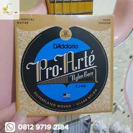 Senar Gitar Klasik Nilon D Addario EJ46 Classical Guitar Nylon Strings