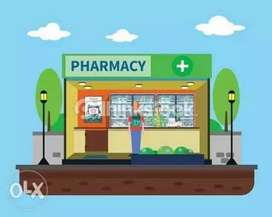 Sales boy for medicine shop