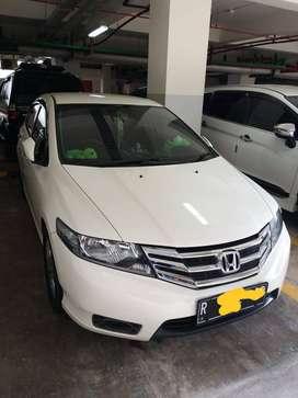 Honda city E th 2012 putih mutiara
