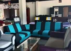 5 seater sofa + Teapoy