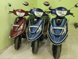 TVs ZEST110CC single owner 3month engine warranty visit bikes24
