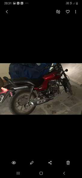 JUST 900 KM Brand new Bajaj Avenger 180 Street