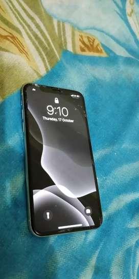 iPhone X 64 GB white colour clean phone no scratches