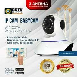 Bayar COD=> CCTV Wireless Wifi Camera