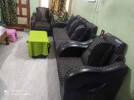 Fish cut sofa set