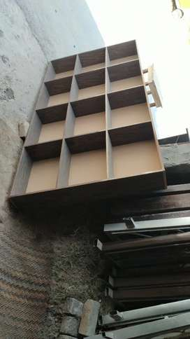 Shop racks and counter for sale