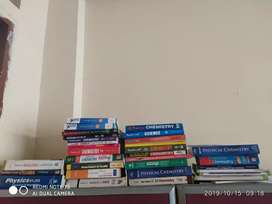 Class 11th, 12th (cbse) and competition books.
