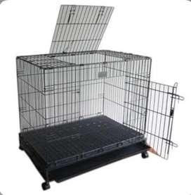Puppy's cage