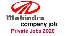 JOB OPENING!! LAST FEW HIRING OF 2020 IN MAHINDRA MOTOR PVT LTD hiring