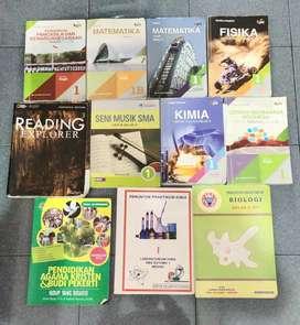 Buku Pelajaran Kelas 10/ 1 SMA  Sutomo 1 Lengkap