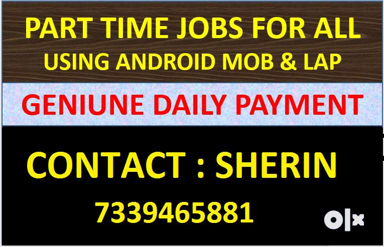 Genuine Mobile Based Data Entry Job in TIRUPUR  With Daily Payment) 0