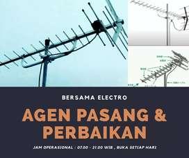 Ahli layanan pasang signal antena tv digital