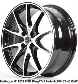 velg terbaru ring 17 rata untuk yaris jazz brio swift go march