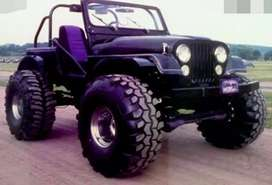 Wrangler modified jeep