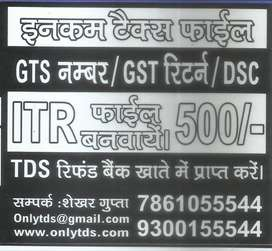 ITR FILING ONLY 500