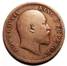 114 Years Old Indian Coin Rs.80
