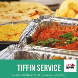 Lunch tiffin service for offices