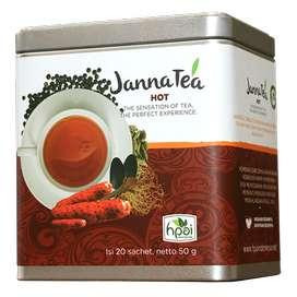 JANNATEA HOT teh kesehatan