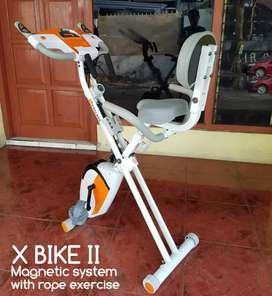Sepeda x bike jumbo alat olahraga