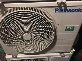 AC panasonic 1/2 PK R32 harga plus pasang Grs 6 bulan dingin istimewa