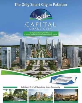 Book your 10 marla plots in Capital Smart City