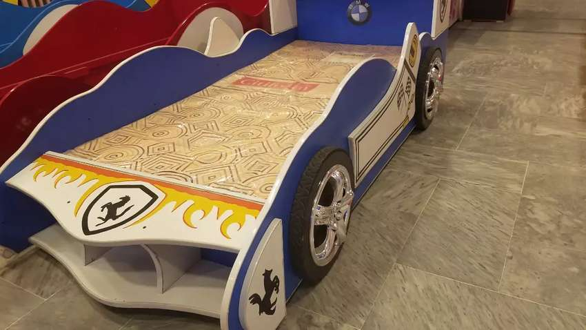 Kids Car bed with adorable themes 0