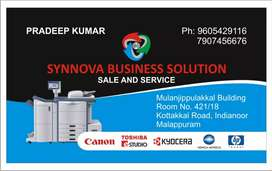 All photocopier,printer,computer.sales and service