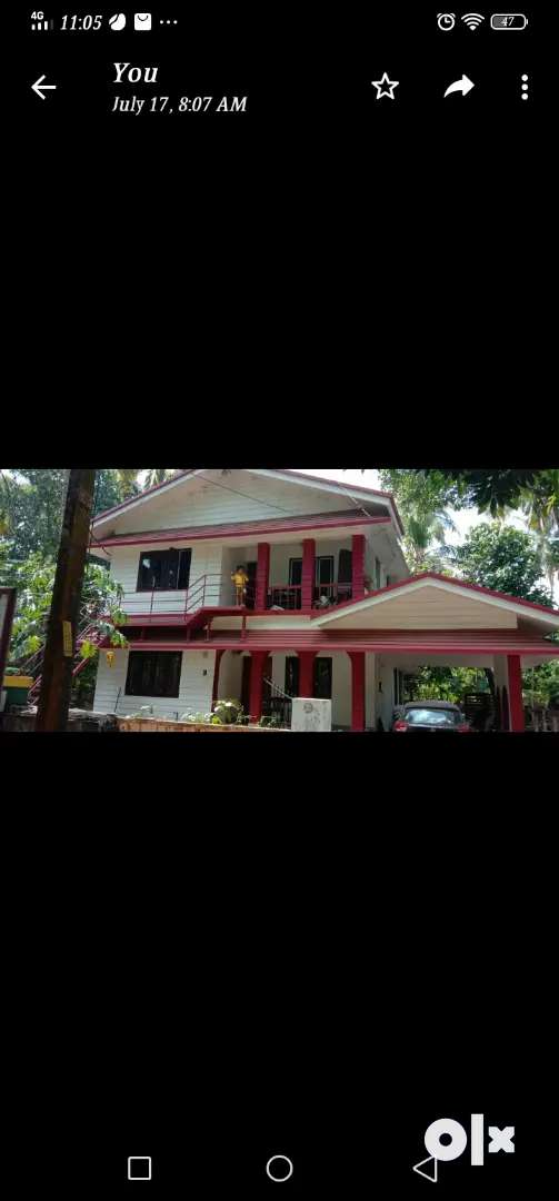 Paying guest for ladies near Thrissur town and important institutions