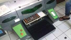 Mesin Printer UV Ultraviolet Gateway Cetak Case kartu emoney bisnis