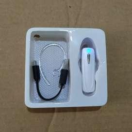 Bluetooth Handsfree Telpon Microphone Musik Headset No Kabel
