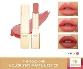 YOU The Gold One Color Stay Matte Lipstick 3.2g