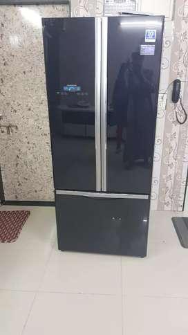 Hitachi 510L R-WB550PND2-(GBK) Frost Free Refrigerator (Glass Black)