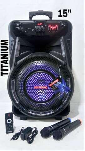 Speaker Aktif Portable 15 Inch Asatron HT 8873