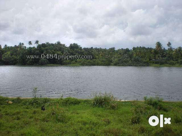 32 cent periyar waterfront land at aluva