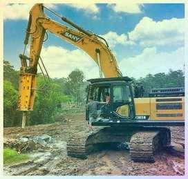 Penyewaan Ekskavator/Bulldozer+Excavator+Alat Berat Excavator Jayapura