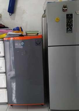 Dcr kulkas showcase freser AC mesin cuci tv rusak normal siap ambil