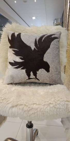 High quality leather cushion covers for sofa and bed set