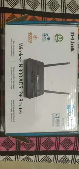 D-Link wireless N 300 ADSL2+Router
