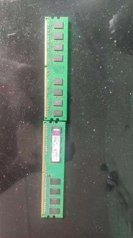 Ram Stick DDR2 2 GB + 1GB FREE