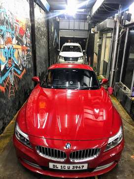 Red BMW Z4 in immaculate condition